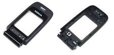 * Nokia 6060 ORIGINALE B-cover guscio superiore VETRINO display BLACK NERO