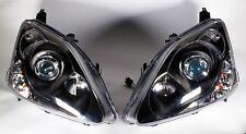 LED DEPO Black Projector LED Headlight 02-05 Honda Civic 3D Si HB EP3 (LED)