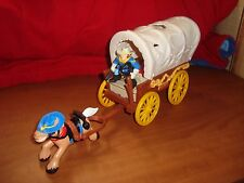 Fisher Price Great Adventures Fort Dakota Covered Wagon
