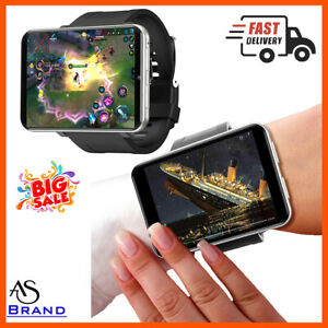 2021 Men 2.86 Inch Screen Smart Watch For Android 3GB 32GB 5MP Camera 2700mah !