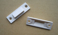 White UPVC Window Locking Wedges - Improves Security and Seal - 5 Pairs