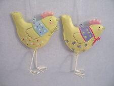 Gisela Graham Pasqua / Egg Caccia Pasqua Giardino Stagno CHICK Decorazione X 2