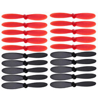 20Pcs Blade Propeller for Hubsan X4 H107L H107C H107D RC Quadcopter Black & Red