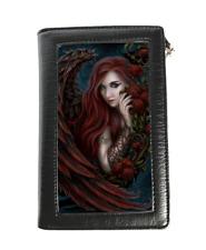 Linda M Jones Purse/Wallet featuring 3D image of Daemon La Rosa