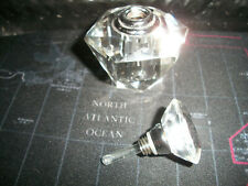 Estate Sale - Vintage Crystal Scent Perfume Bottle !
