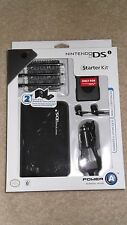 Nintendo DS car adapter, earbuds, 3 stylus, carry case sealed Starter Kit Gaming