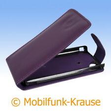 Flip Case Etui Handytasche Tasche Hülle f. Sony Ericsson Xperia Arc S (Violett)
