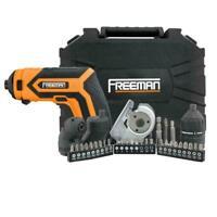 Freeman P36VCMSK 3.6V Lithium-Ion Cordless Electric Mini Screwdriver Kit