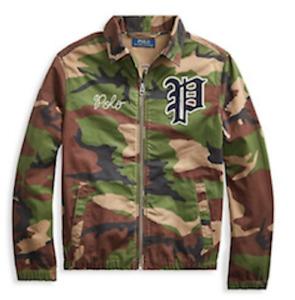 $115 Polo Ralph Lauren Boys Camouflage Windbreaker 5
