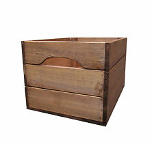 Large Rustic Farmhouse Wooden Crate Storage Box from Crates4You