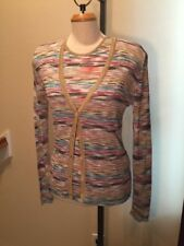 "Missoni ""Gorgeous"" Sweater Twin Set  Size M US 10 ""Made In Italy"""