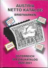 Neu Austria Netto Katalog Briefmarken Spezial 2020/21 Neu!!!!  ANK  Eiamaya