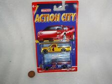 Realtoy  Action City  2 x Die Cast Jeeps / Trucks , Unused  On Card