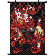 Anime Jabami Yumeko Kakegurui Gambaling School Wall Poster Scroll Cosplay 2616