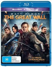 The Great Wall (Blu-ray, 2017) BRAND NEW & SEALED