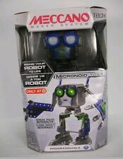 NEW MECCANO TECH MICRONOID TITAN TARGET EXCLUSIVE PROGRAMMABLE INTRRACTS ROBOT