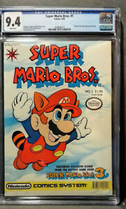 Super Mario Bros. 1  CGC 9.4 NM  W/ PAGES  N/CASE