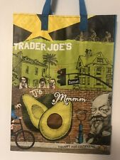 Trader Joes California Shopping Grocery Eco Green Tote Bag Reusable Brand New