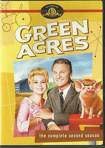 GREEN ACRES Complete Season 2 *New & SEALED* ALL Regions (Plays on any Player)