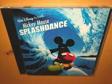 Walt Disney MICKEY MOUSE SPLASHDANCE CD giorgio moroder ent MINNIE chip n dale