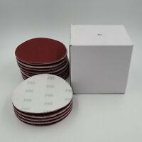 "100 Pcs 6"" DA Hook & Loop Sandpaper Sanding Discs Sand Sheet Grit 40 - 2000"