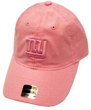 New York Giants NFL Reebok Pink Tonal Relaxed Slouch Hat Cap Women s NY Logo 76a831a9e