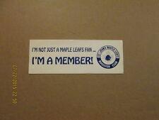 Ahl St.Johns Maple Leaf's Booster Club Bumper Sticker