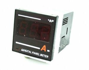 1pcs 8P 48mmX48mm Size AC Digital Led Ammeter Meter DC100V-240V