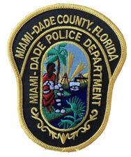 Florida Miami-Dade County Shoulder Patch