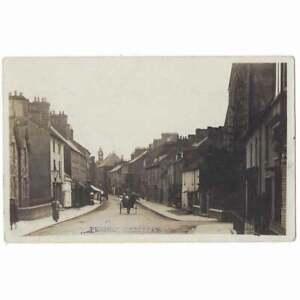 CARDIGAN Pendre. Cardiganshire RP Postcard Postmark Cardigan 1910