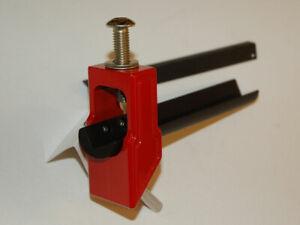Drill Bit Holder for Universal Grinder Sharpener U2 U3 Vortex Cutter RED