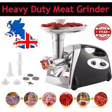 2800W COMMERCIAL ELECTRIC MEAT GRINDER MINCER SAUSAGE MAKER FILLER CE UK