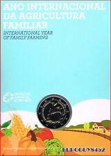 PORTUGAL - MINIBLISTER 2 € 2014 BU - INTERNATIONAAL JAAR V/D FAMILIEBOERDERIJ