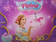 FLYING FAIRY UNICORN RECHARGEABLE HAND FLYING LED REMOTE CONTROL GIRLS TOYS PINK