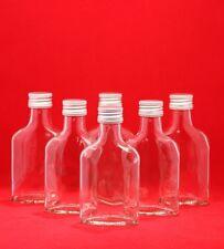 Glas-Flaschen 100 ml oder 200 ml Likör Schnaps TASCHEN leer zum selbst befüllen