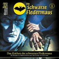 DIE SCHWARZE FLEDERMAUS 01-DAS ZEICHEN DER SCHWARZ  CD NEU