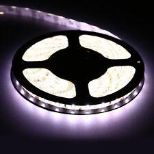 5M 16.4ft SMD 5630 Waterproof 300 LED Flexible Strip Light Lamp Tape DC12V White