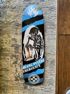 NOS 2005 Duane Peters Olson Alva Hosoi Black Label Skateboard deck  US BOMBS