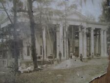 Rare - Florida Governor's Mansion under construction, photo, c. 1907