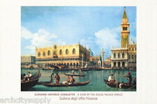 POSTER: ART: VIEW OF THE DUCAL PALACE - VENICE , ITALY     #ST2774  RAP120 B