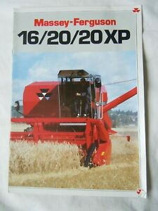 @Massey Ferguson 16/20/20XP Combine Brochure @