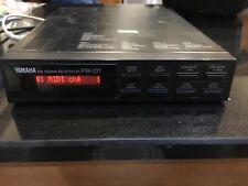 Yamaha FB 01 Classic with FM Synthesiser  half rack module Japan