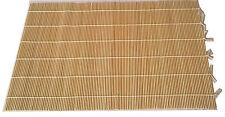 Feltratura Stuoie in bambù x 4-Bagnato Feltratura ROLLING Stuoie 45cm x 30cm