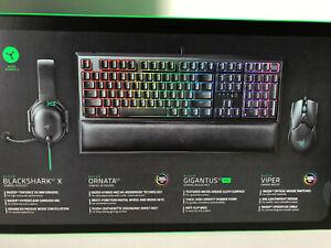 Razer All-Star Gaming Bundle Keyboard + Mouse + Pad + Headset RZ85-03380100-B3U1
