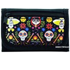 Disney Coco Family Authentic Licensed Canvas Trifold Black Wallet for Children
