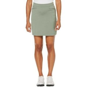 Pga Tour Women's Slit Pocket Stretch Active Wear Skort Sea Spray Size 12