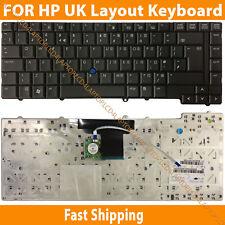 New HP Compaq EliteBook 8530 8530p 8530w Laptop keyboard UK Layout