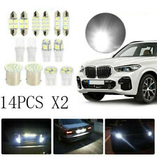 28Pcs Auto Car Interior LED Light Dome License Plate Mixed Lamp Set Accessories~