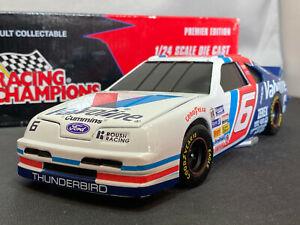 Action Mark Martin Valvoline Coin Bank Ford Thunderbird NASCAR 1/24 Diecast