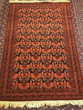 4x6 Feet Very Rare Handmade Nomad Tribal Marchaq high quality 100% wool rug